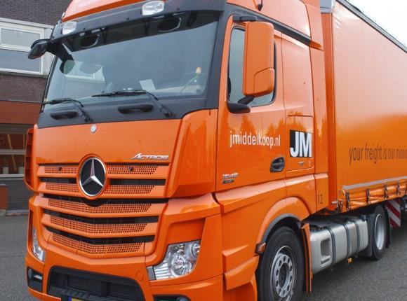 Certificering groen bandenbeleid voor J. Middelkoop Logistics